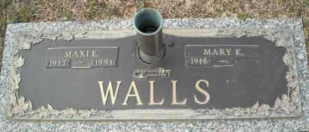 WALLS, MAXIE - Faulkner County, Arkansas   MAXIE WALLS - Arkansas Gravestone Photos