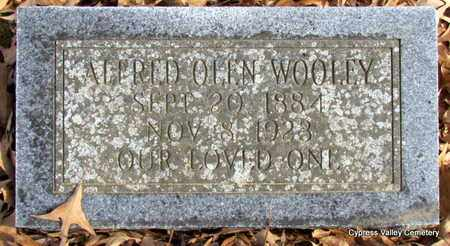 WOOLEY, ALFRED OLEN - Faulkner County, Arkansas   ALFRED OLEN WOOLEY - Arkansas Gravestone Photos