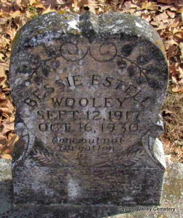 WOOLEY, BESSIE ESTELL - Faulkner County, Arkansas | BESSIE ESTELL WOOLEY - Arkansas Gravestone Photos