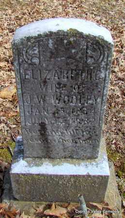 WOOLEY, ELIZABETH CAROLINE - Faulkner County, Arkansas | ELIZABETH CAROLINE WOOLEY - Arkansas Gravestone Photos
