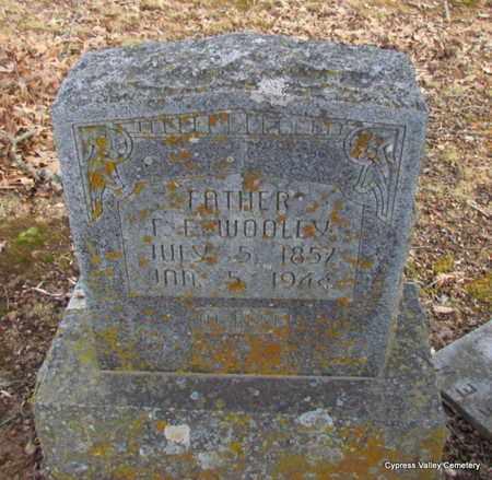 WOOLEY, FRANCIS EDWIN - Faulkner County, Arkansas | FRANCIS EDWIN WOOLEY - Arkansas Gravestone Photos