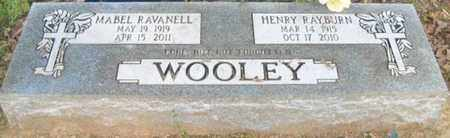 WOOLEY, HENRY RAYBURN - Faulkner County, Arkansas   HENRY RAYBURN WOOLEY - Arkansas Gravestone Photos