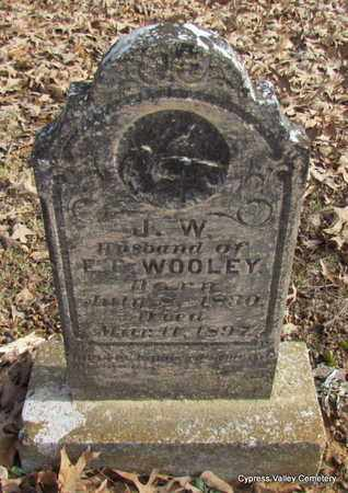 WOOLEY, J.W. - Faulkner County, Arkansas | J.W. WOOLEY - Arkansas Gravestone Photos