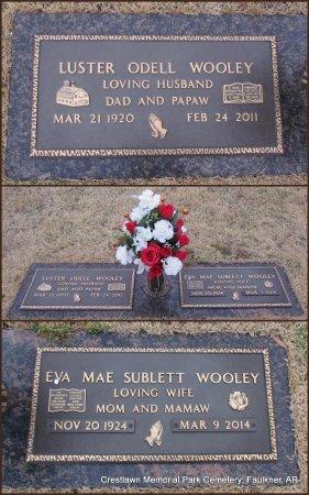 WOOLEY, LUSTER ODELL - Faulkner County, Arkansas | LUSTER ODELL WOOLEY - Arkansas Gravestone Photos