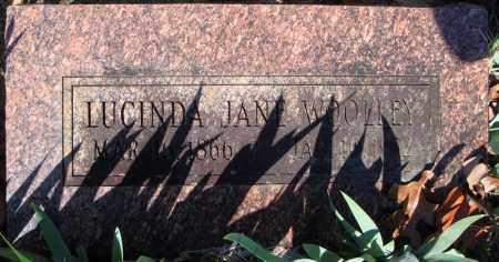 WOOLEY, LUCINDA JANE - Faulkner County, Arkansas   LUCINDA JANE WOOLEY - Arkansas Gravestone Photos