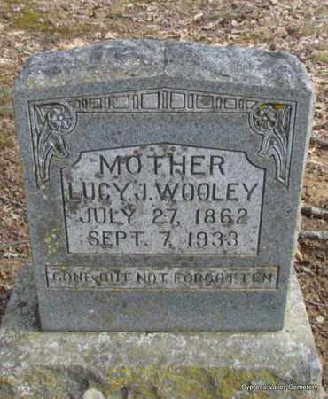 """WOOLEY, LUCINDDY JANE """"LUCY"""" - Faulkner County, Arkansas 