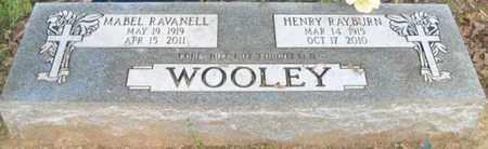 WOOLEY, MABEL RAVANELL - Faulkner County, Arkansas   MABEL RAVANELL WOOLEY - Arkansas Gravestone Photos