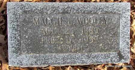 WOOLEY, MAGGIE L. - Faulkner County, Arkansas | MAGGIE L. WOOLEY - Arkansas Gravestone Photos