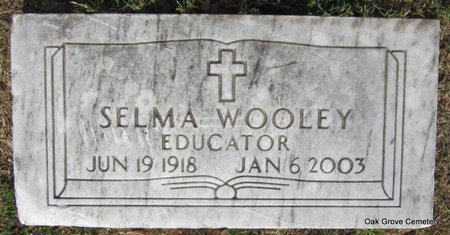 WOOLEY, SELMA (SINGLE STONE) - Faulkner County, Arkansas   SELMA (SINGLE STONE) WOOLEY - Arkansas Gravestone Photos