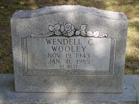 WOOLEY, WENDELL CARROLL - Faulkner County, Arkansas | WENDELL CARROLL WOOLEY - Arkansas Gravestone Photos