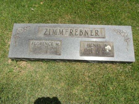 ZIMMEREBNER, HENRY A - Faulkner County, Arkansas | HENRY A ZIMMEREBNER - Arkansas Gravestone Photos
