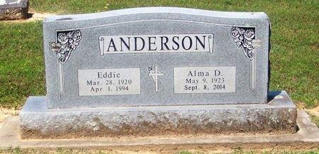 ANDERSON, EDDIE - Franklin County, Arkansas | EDDIE ANDERSON - Arkansas Gravestone Photos