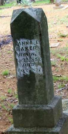 BAKER, ANNA E - Franklin County, Arkansas | ANNA E BAKER - Arkansas Gravestone Photos