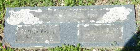 BAKER, BERTHA - Franklin County, Arkansas   BERTHA BAKER - Arkansas Gravestone Photos
