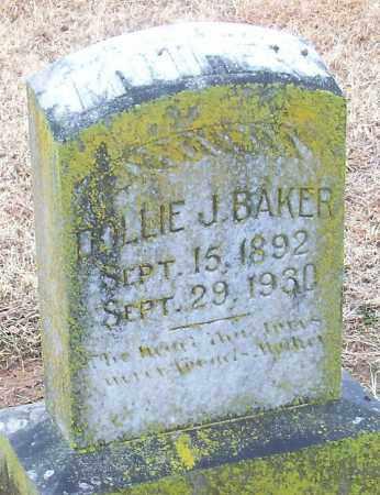 BAKER, DOLLIE J. - Franklin County, Arkansas   DOLLIE J. BAKER - Arkansas Gravestone Photos