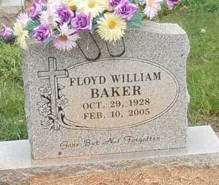 BAKER, FLOYD WILLIAM - Franklin County, Arkansas | FLOYD WILLIAM BAKER - Arkansas Gravestone Photos