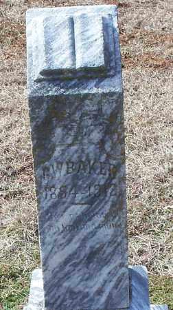 BAKER, G W - Franklin County, Arkansas   G W BAKER - Arkansas Gravestone Photos