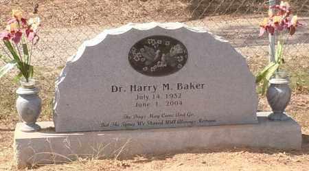 BAKER, HARRY M DR - Franklin County, Arkansas | HARRY M DR BAKER - Arkansas Gravestone Photos