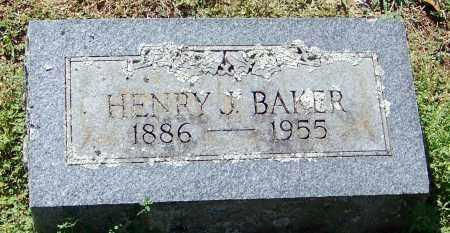 BAKER, HENRY J - Franklin County, Arkansas | HENRY J BAKER - Arkansas Gravestone Photos