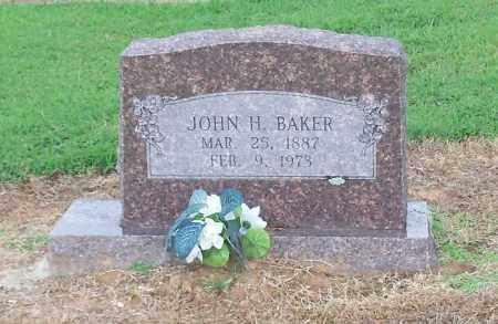 BAKER, JOHN H - Franklin County, Arkansas | JOHN H BAKER - Arkansas Gravestone Photos