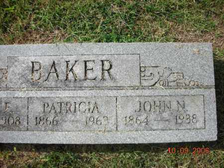 BAKER, JOHN N - Franklin County, Arkansas | JOHN N BAKER - Arkansas Gravestone Photos