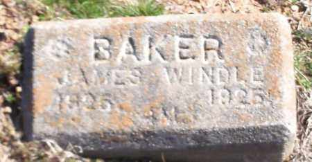 BAKER, JAMES WINDLE - Franklin County, Arkansas | JAMES WINDLE BAKER - Arkansas Gravestone Photos