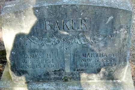 BAKER, JAMES H - Franklin County, Arkansas | JAMES H BAKER - Arkansas Gravestone Photos