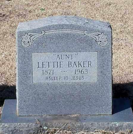 BAKER, LETTIE - Franklin County, Arkansas | LETTIE BAKER - Arkansas Gravestone Photos