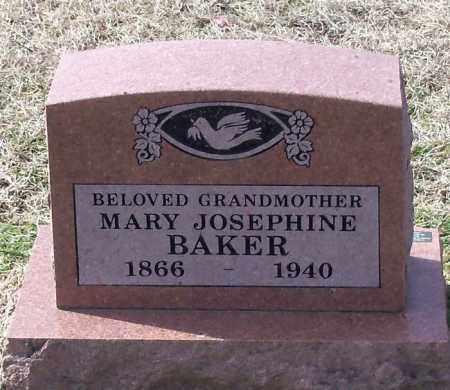 BAKER, MARY JOSEPHINE - Franklin County, Arkansas | MARY JOSEPHINE BAKER - Arkansas Gravestone Photos