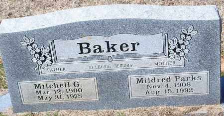 BAKER, MITCHELL G - Franklin County, Arkansas | MITCHELL G BAKER - Arkansas Gravestone Photos