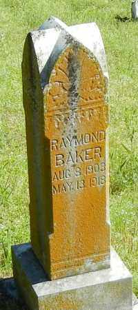 BAKER, RAYMOND - Franklin County, Arkansas | RAYMOND BAKER - Arkansas Gravestone Photos