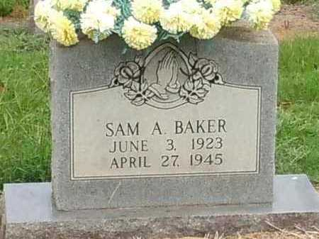 BAKER, SAM A - Franklin County, Arkansas | SAM A BAKER - Arkansas Gravestone Photos