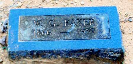 BAKER, W G - Franklin County, Arkansas   W G BAKER - Arkansas Gravestone Photos
