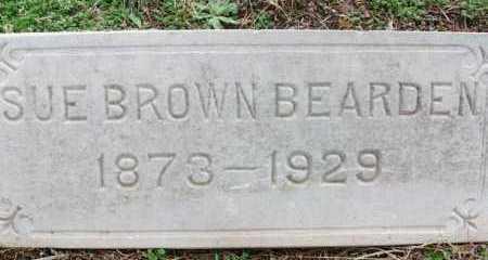 BEARDEN, SUE - Franklin County, Arkansas   SUE BEARDEN - Arkansas Gravestone Photos