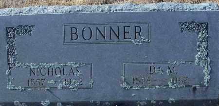 BONNER, IDA M - Franklin County, Arkansas | IDA M BONNER - Arkansas Gravestone Photos