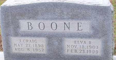 BOONE, J. CRAIG - Franklin County, Arkansas | J. CRAIG BOONE - Arkansas Gravestone Photos