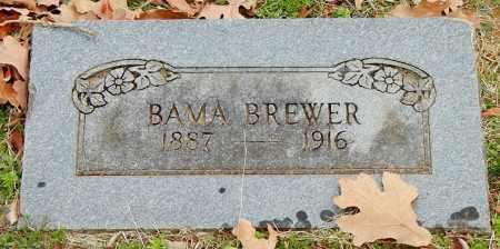 BREWER, BAMA - Franklin County, Arkansas | BAMA BREWER - Arkansas Gravestone Photos