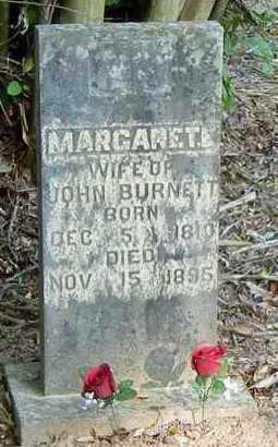 GOFORTH BURNETT, MARGARET E - Franklin County, Arkansas   MARGARET E GOFORTH BURNETT - Arkansas Gravestone Photos
