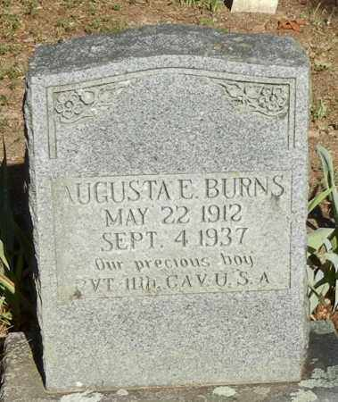 BURNS (VETERAN), AUGUSTA E - Franklin County, Arkansas | AUGUSTA E BURNS (VETERAN) - Arkansas Gravestone Photos