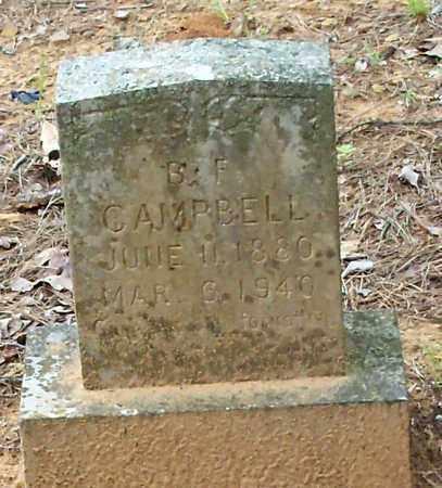 CAMPBELL, B F - Franklin County, Arkansas | B F CAMPBELL - Arkansas Gravestone Photos