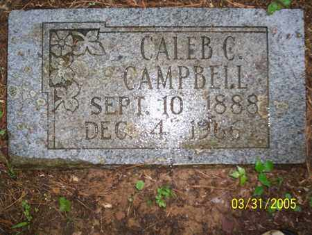 CAMPBELL, CALEB C - Franklin County, Arkansas   CALEB C CAMPBELL - Arkansas Gravestone Photos