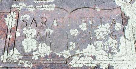 CAMPBELL, SARAH ELLA (CLOSEUP) - Franklin County, Arkansas | SARAH ELLA (CLOSEUP) CAMPBELL - Arkansas Gravestone Photos
