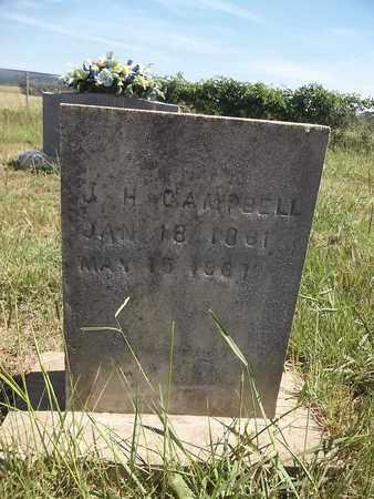 CAMPBELL, JOHN H - Franklin County, Arkansas   JOHN H CAMPBELL - Arkansas Gravestone Photos