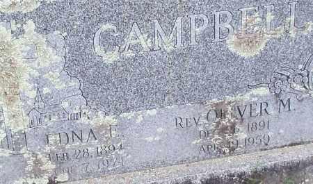 CAMPBELL, OLIVER M., REV. - Franklin County, Arkansas | OLIVER M., REV. CAMPBELL - Arkansas Gravestone Photos