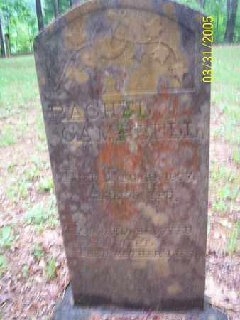 THOMAS CAMPBELL, RACHEL - Franklin County, Arkansas | RACHEL THOMAS CAMPBELL - Arkansas Gravestone Photos