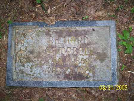 CAMPBELL, RICHARD - Franklin County, Arkansas | RICHARD CAMPBELL - Arkansas Gravestone Photos