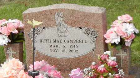 CAMPBELL, RUTH MAE - Franklin County, Arkansas | RUTH MAE CAMPBELL - Arkansas Gravestone Photos