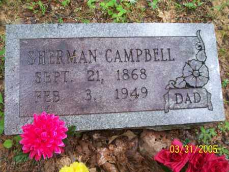 CAMPBELL, SHERMAN - Franklin County, Arkansas | SHERMAN CAMPBELL - Arkansas Gravestone Photos