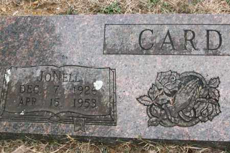 CARD, JONELL - Franklin County, Arkansas | JONELL CARD - Arkansas Gravestone Photos