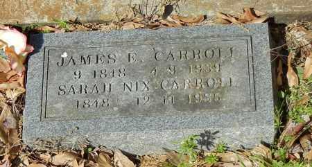 CARROLL, JAMES E - Franklin County, Arkansas | JAMES E CARROLL - Arkansas Gravestone Photos